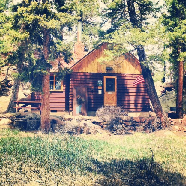 The Ranger's cabin. A quaint spot that has seen some rockin evening fires. And some overly large cougars.