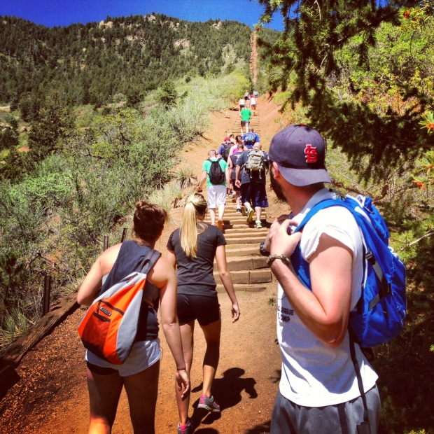 Manitou Incline Colorado Springs