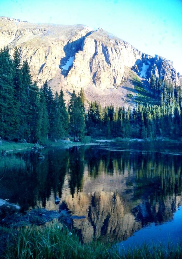 Friday night camping spot at Alta Lakes - at nearly 11,500 ft. Deep breaths!