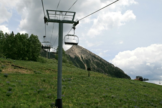 Up to Mt Crested Butte